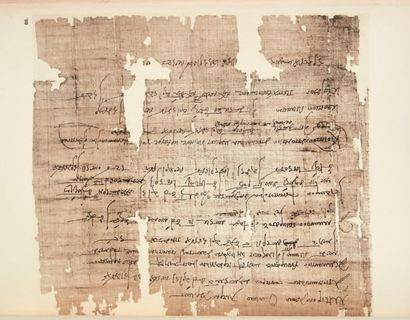 BUDGE E. A. W. Facsimile of Egyptian Hieratic Papyri in the British Museum, vol....