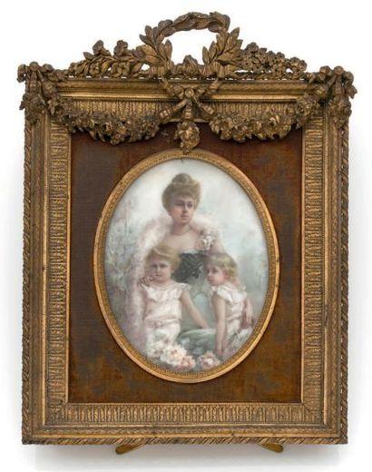 GOUIRAND (ÉCOLE FRANÇAISE VERS 1890)