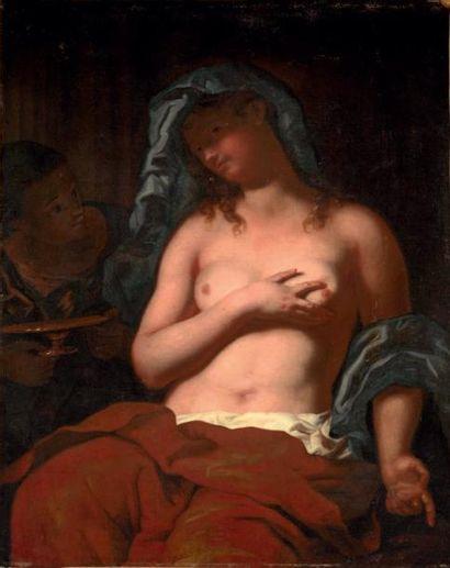 JOHANN KARL LOTH DIT CARL LOTH (MUNICH 1632 - VENISE 1698) ET ATELIER Artémise Toile...