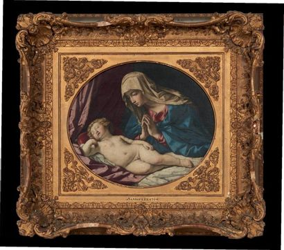 GIOVANNI BATTISTA SALVI, DIT IL SASSOFERRATO (SASSOFERRATO 1609 - ROME 1685)