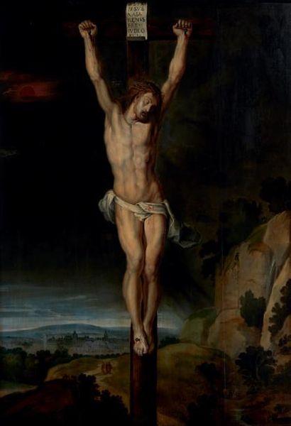 ECOLE FLAMANDE VERS 1640, ENTOURAGE DE ANTON VAN DYCK