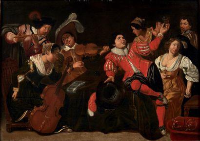 ÉCOLE HOLLANDAISE, 1658, SUIVEUR DE SIMON DE VOS