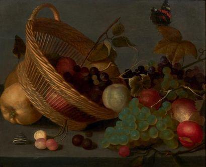 ÉCOLE FLAMANDE VERS 1800, DANS LE GOÛT DE JOHANNES BOSSCHAERT
