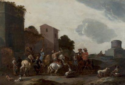 SIMON JOHANNES VAN DOUW (ANVERS 1630 - VERS 1677)