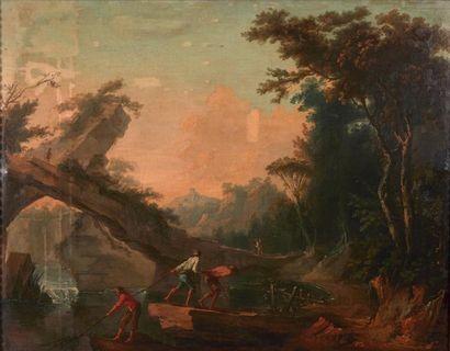 ATTRIBUÉ À FRANCESCO ZUCCARELLI (1702 - 1788)