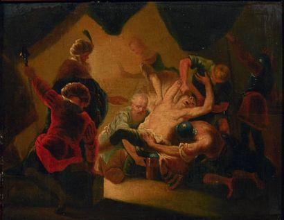 ÉCOLE HOLLANDAISE VERS 1700, SUIVEUR DE LEONARD BRAMER