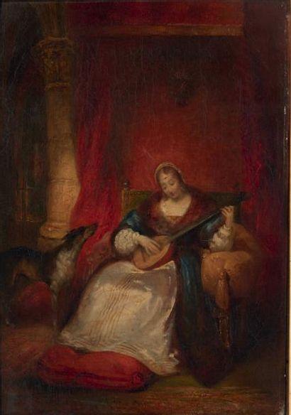 Attribué à Richard Parkes BONINGTON (1802 - 1828)