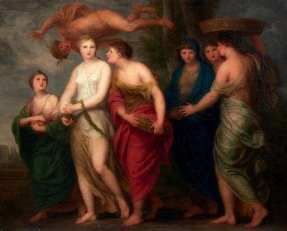 ANDRÉ CORNEILLE LENS (ANVERS 1739 - BRUXELLES 1822)