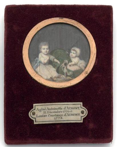 Ecole Française vers 1770