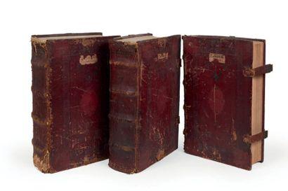 GESNER (Conrad) Historiæ Animalium Lib. I de Quadrupedibus uiuiparis [- Liber II...