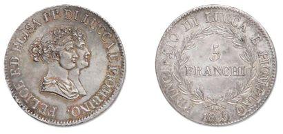 LUCQUES ET PIOMBINO Elisa Bonaparte et Felix...