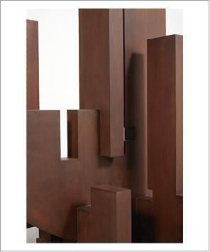 FRANCESCO MARINO DI TEANA (1920 - 2012) Saarbrucken, 1985-1988 Sculpture en acier...