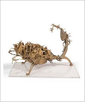 César (1921-1998) Sans titre, vers 1952 Pièce unique. Sculpture composée d'éléments...