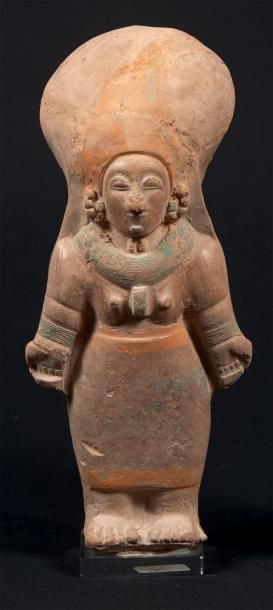 CULTURE JAMA-COAQUE Statuette représentant...