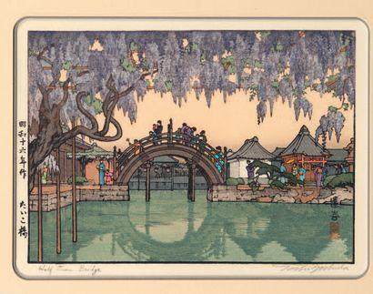 TOSHI YOSHIDA (1911-1995): CHUBAN YOKO-E