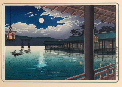 TSUCHIYA KOITSU (1870-1949): OBAN YOKO-E
