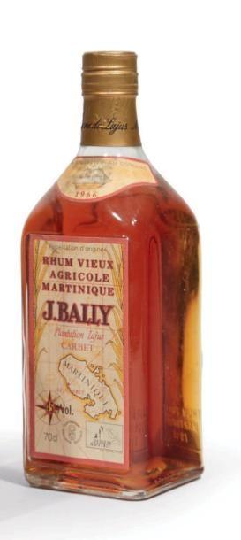 * 1 BOUTEILLE VIEUX RHUM J.BAILLY - PLANTATION...