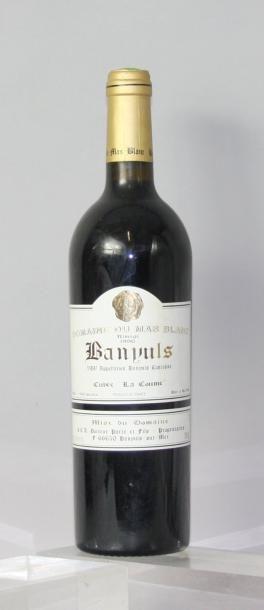 * 1 BOUTEILLE BANYULS - Rimage La Coume -...
