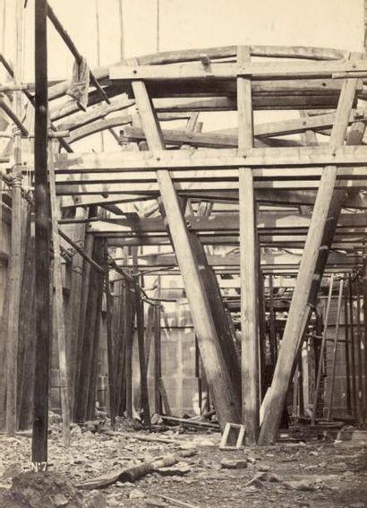 Delmaet et Durandelle Construction du Nouvel Opéra de Paris, «Cintre du grand vestibule....