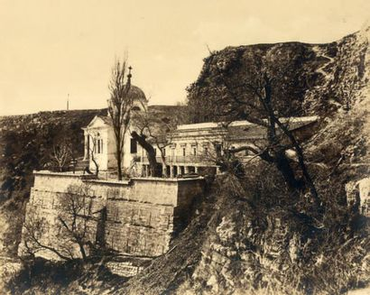 COLONEL JEAN-CHARLES LANGLOIS «Monastère Saint-Georges» guerre de Crimée, 1855 Épreuve...