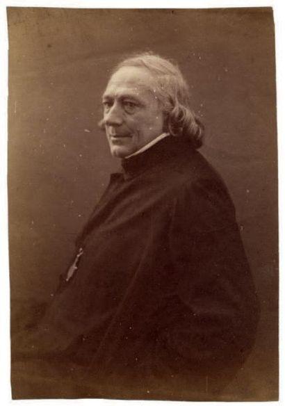 Félix Nadar Charles Philipon, 1856-1858 Épreuve sur papier salé d'après négatif verre...