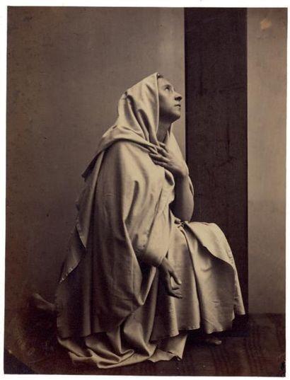 BEAUX-ARTS, études pour peintre La Vierge...