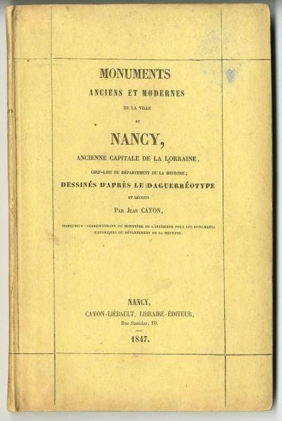 «Monuments anciens et modernes de la ville...