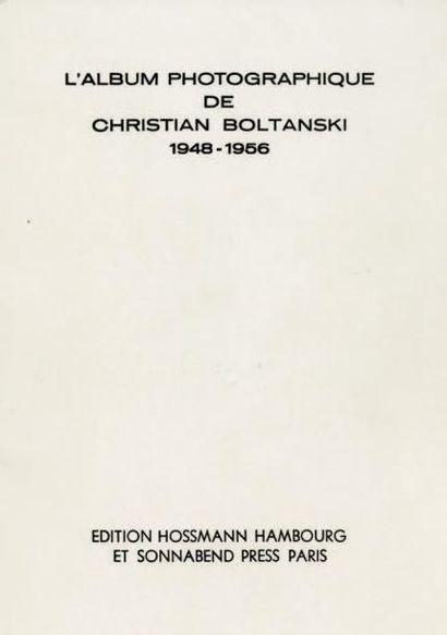 L'ALBUM PHOTOGRAPHIQUE DE CHRISTIAN BOLTANSKI...