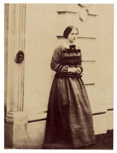 WILLIAM EARL OF CRAVEN Lady Blanche Craven à Ashdown, vers 1856 Épreuve sur papier...