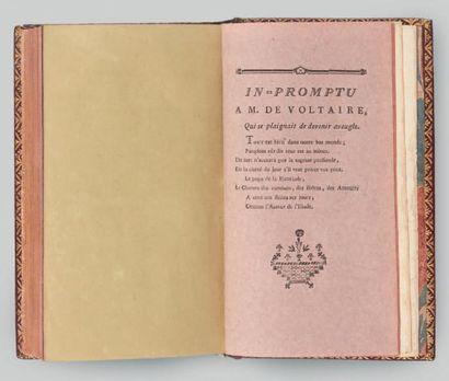 [PELÉE de VARENNES (Marie Joseph Hippolyte)] Les Loisirs des bords du Loing, ou Recueil...