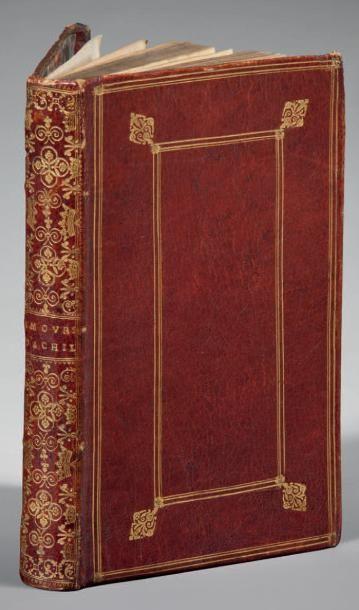 ACHILLE TATIUS Les Amours de Clitophon et de Leucippe, escris jadis en grec, & depuis...