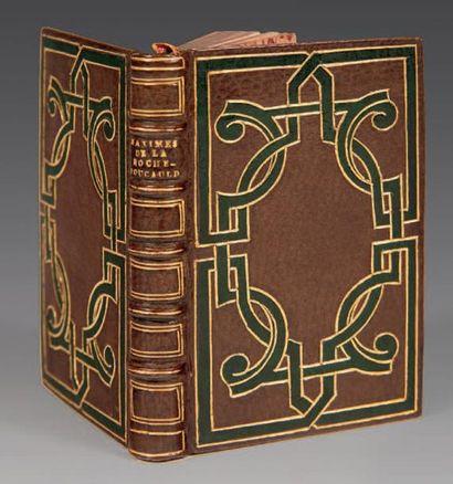 LA ROCHEFOUCAULD (Duc de) Maximes et Réflexions morales. Paris, de l' imprimerie...