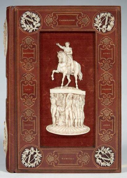 LAURENT DE L'ARDÈCHE Histoire de l'empereur Napoléon, illustrée par Horace Vernet....