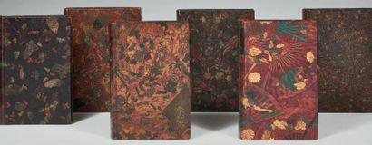 THEURIET (André) Réunion de six ouvrages. 1891-1900. 6 volumes in-12 [environ 190...