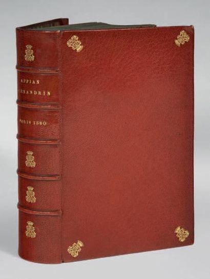 APPIEN Des guerres des Romains livres XI traduicts en François par feu maistre Claude...