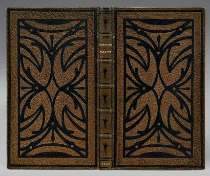 HORACE [Opera]. Paris, Robert III Estienne, 1613. In-12 [154 x 88 mm] de (4) ff.,...