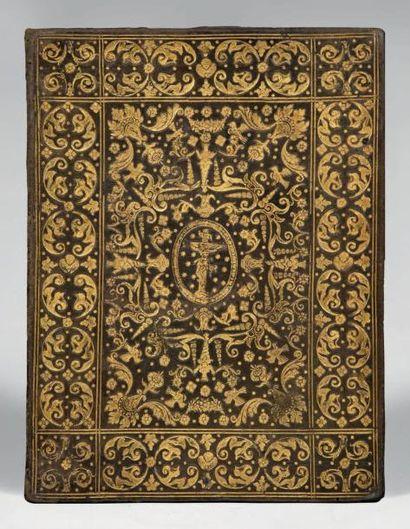 [Diplôme de médecin] Bologne, mars 1640. Manuscrit petit in-4 sur peau de vélin [224...