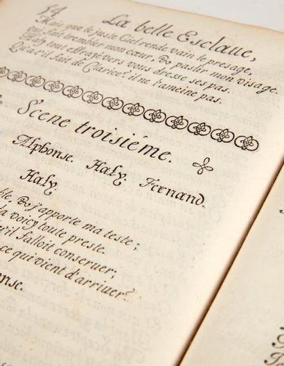 L'ESTOILE (Claude de) La Belle Esclave, tragicomedie. A Paris, se vend en l' imprimerie...