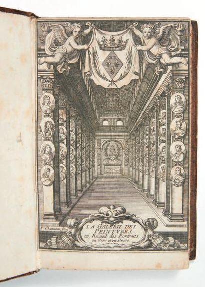 [MONTPENSIER (Anne-Louise d'Orléans, duchesse de)]. Recüeil des portraits et éloges...