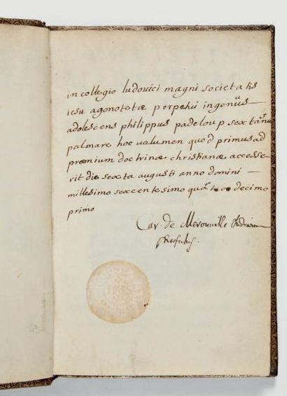 COMBEFIS (François) Christi martyrum lecta trias, Hyacinthus amastrensis; Bacchus...