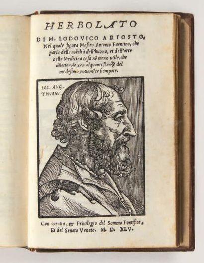 GUEVARA (Antoine de) & MARC AURÈLE Vita, gesti, costumi, discorsi, lettere di Marco...