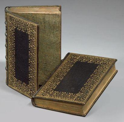 Novum Testamentum [en grec]. Ex Bibliotheca Regia. Paris, Robert 1er Estienne, 1546....