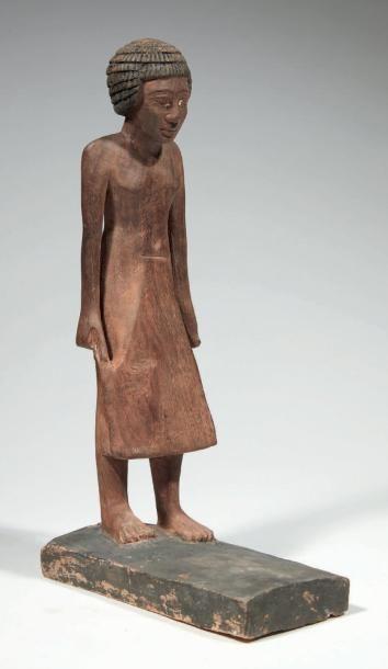 STATUETTE DE DIGNITAIRE. Égypte, Ancien Empire,...