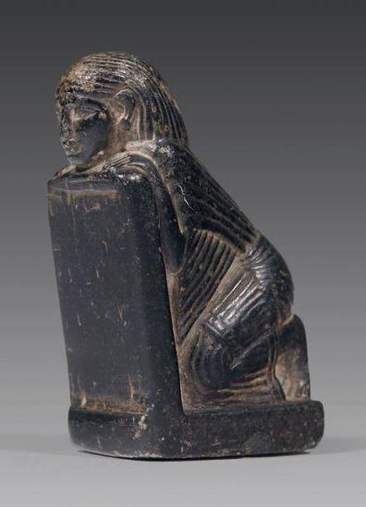 STATUETTE STÉLOPHORE. Égypte, Nouvel Empire...