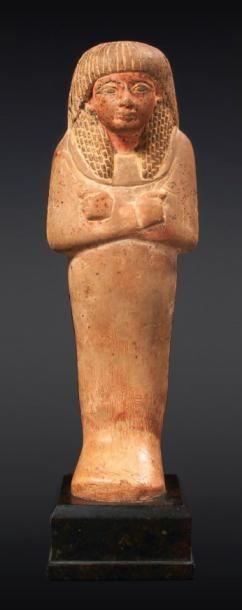 GRAND SHAOUABTI. Égypte, Nouvel Empire, XIXe...