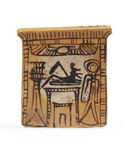 PECTORAL. Égypte, Nouvel Empire, XIXe-XXe...