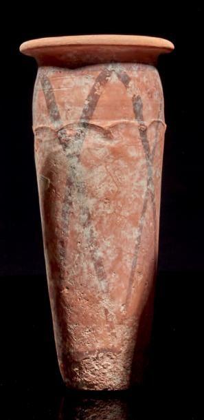 VASE À MOTIF CORDÉ. Égypte, Nagada III. Vase...
