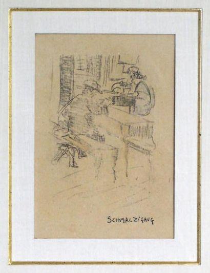 JULES SCHMALZIGAUG (1882-1917)