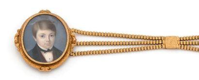 Bracelet à transformation en or 18K (750),...
