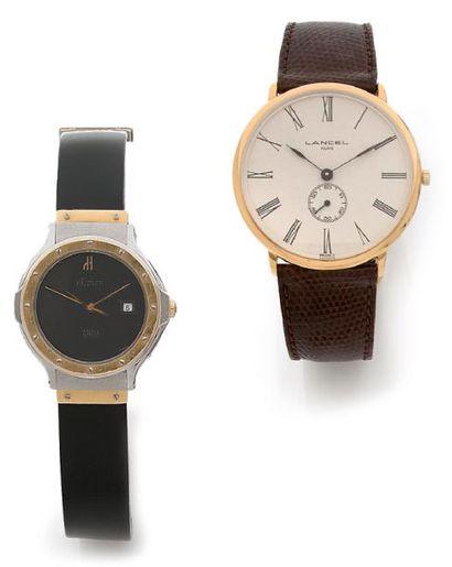 Lot de deux montres bracelets Hublot modèle...
